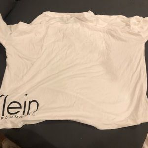 White CALVIN KLEIN long sleeve